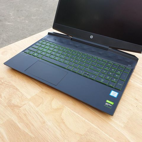 HP GAMING 15 DK0232TX - Chip I7 9750H / Ram 8G / Card GTX 1650 4G / Ssd NVME 256G + 1T / 15.6' FHD / Full Box / Bảo Hành Hãng 12 Tháng