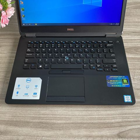 Dell E7470 - I5 6300U / Ram 8G / SSD 256G / 14' Full HD / Phím LED / Máy Đẹp