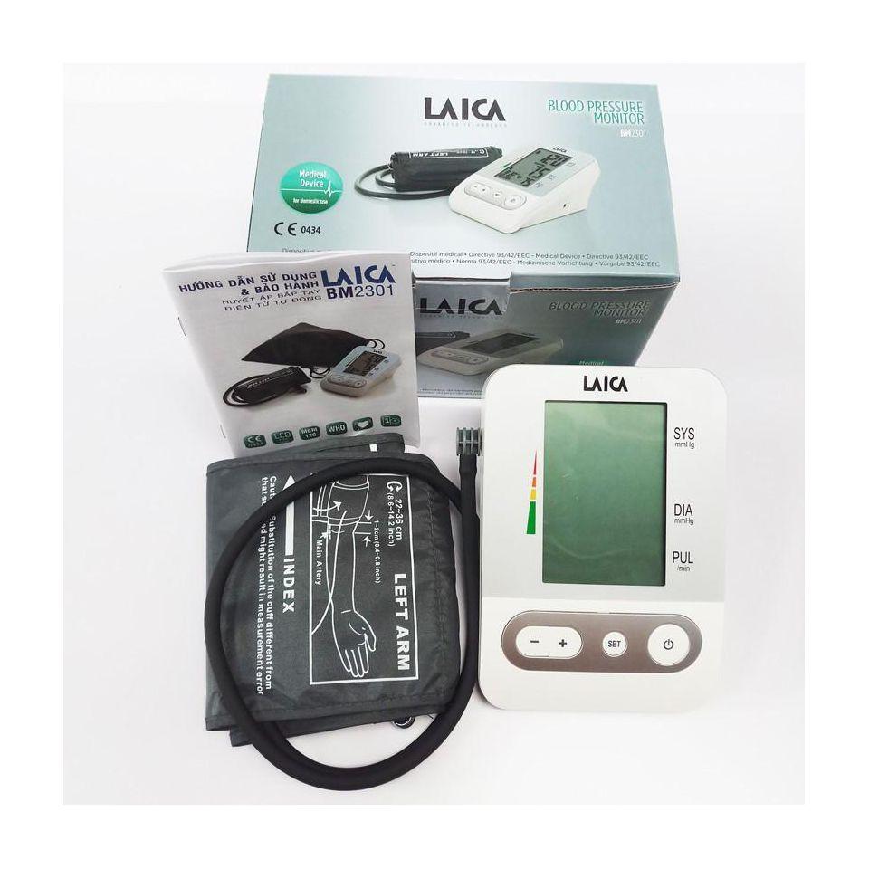 Máy đo huyết áp bắp tay Laica