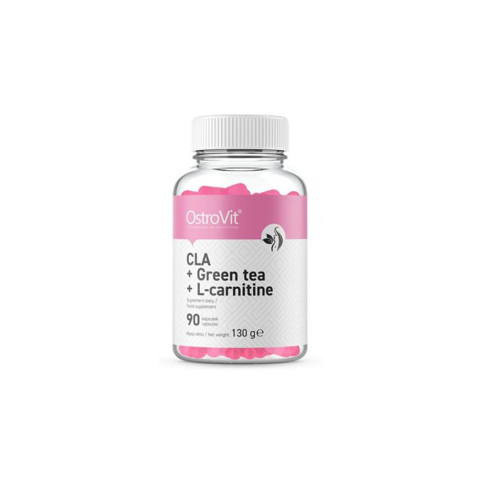 Ostrovit CLA + Greentea + L-Carnitine (90 viên)