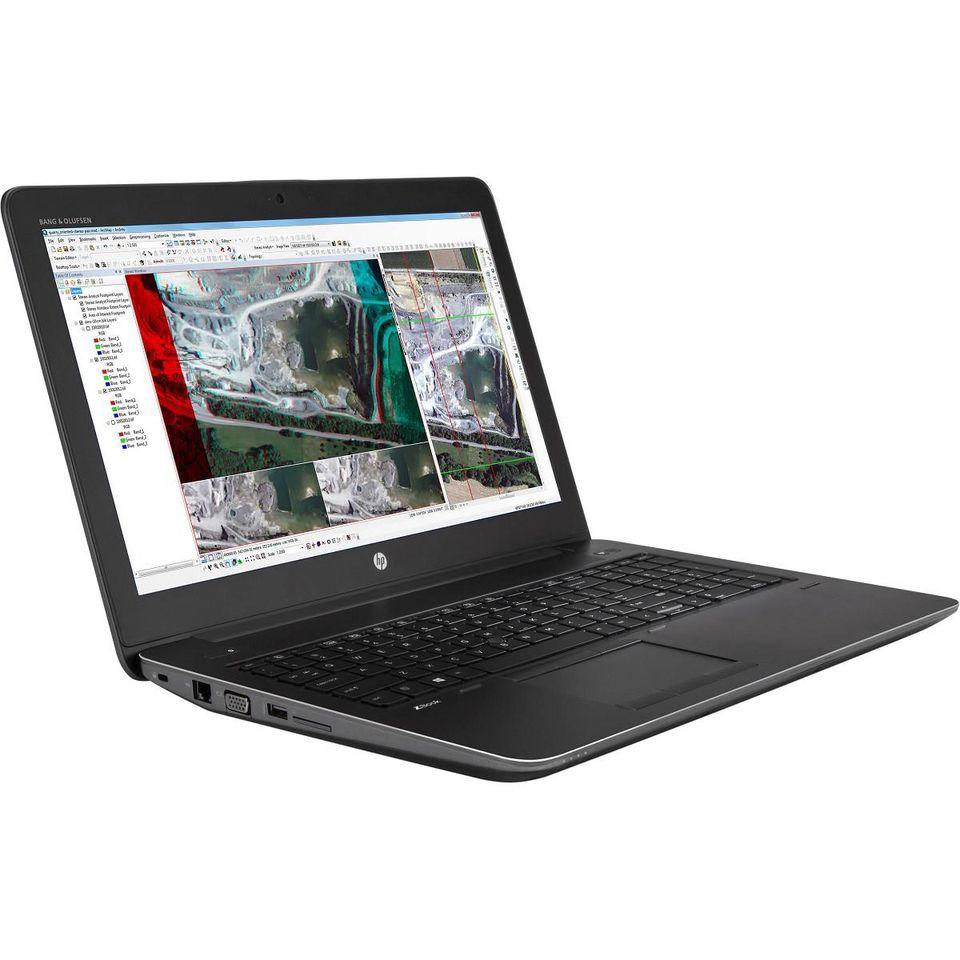 HP ZBOOK 15 G3 Máy Trạm Đồ Họa Chuyên Nghiệp , VGA rời 4GB M2000M , Màn 15,6