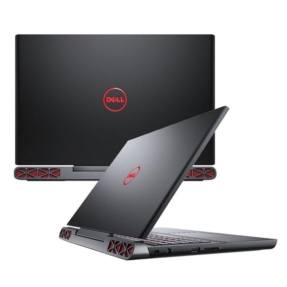 Laptop Dell Inspiron 7567 (Core i7-7700HQ, RAM 8GB, SSD 128GB + HDD 1TB, VGA 4GB NVIDIA GTX 1050Ti, 15.6 inch FHD)