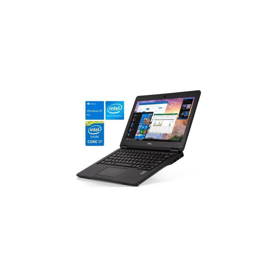 Dell Latitude E7250 Cảm Ứng (Core I5-5300U | RAM 4GB | SSD 120GB | 12.5″ FHD 1920x1080 | Card On )