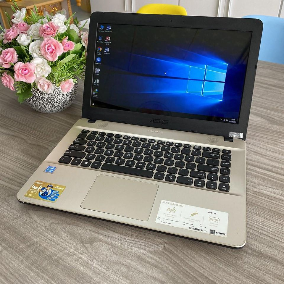 Asus VivoBook X441MA - Chip N5000 / 4G / Ổ 1000G / 14' / Nguyên Tem Hãng