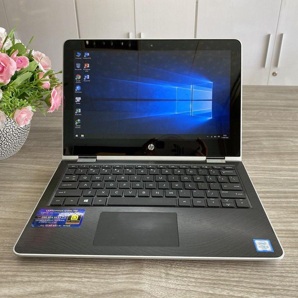 HP X360 11 AD104TU - i3 8130U / 4G / 500G/ 11 Inch / Xoay 360 / Máy Đẹp