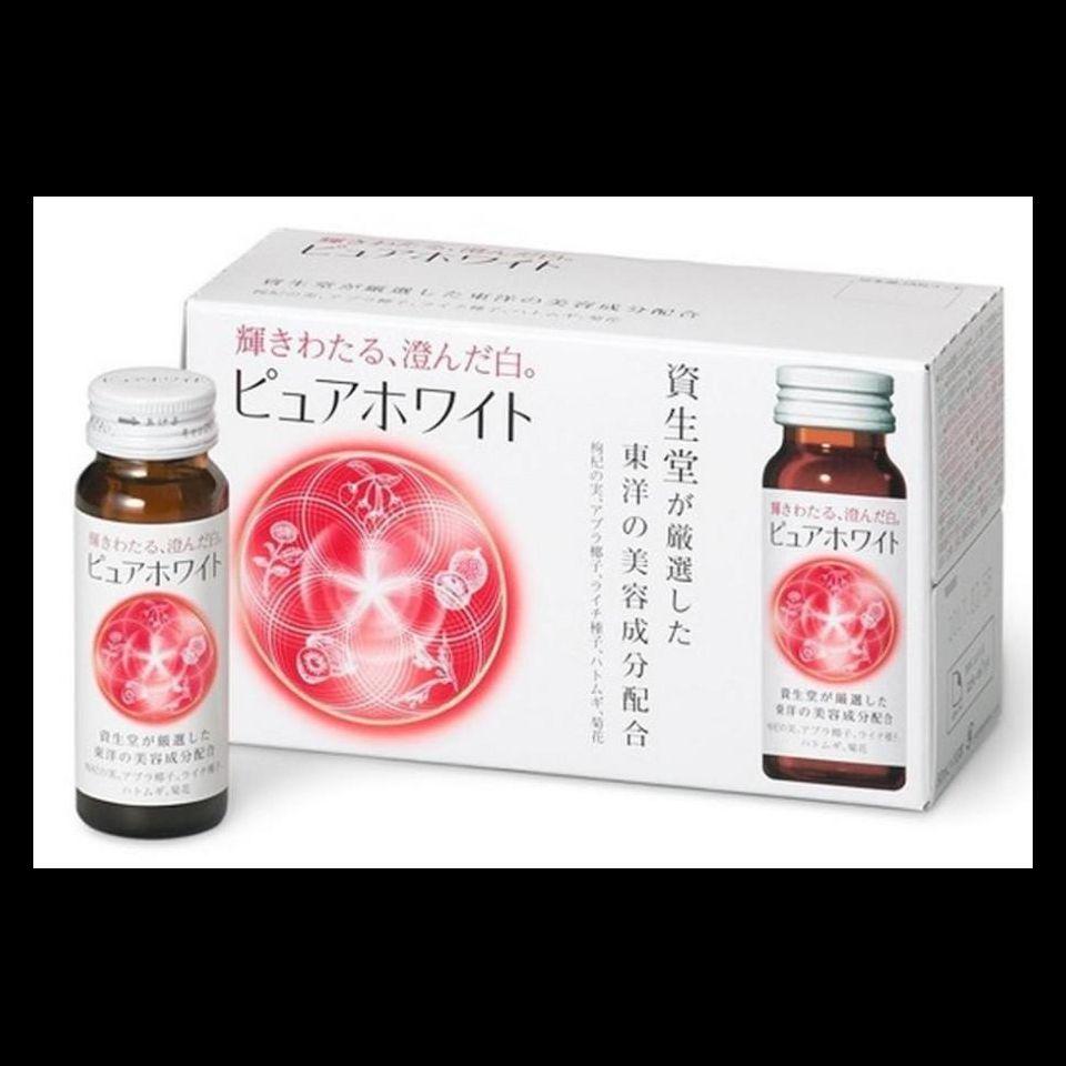 Collagen Shiseido Pure white dạng nước, mẫu mới
