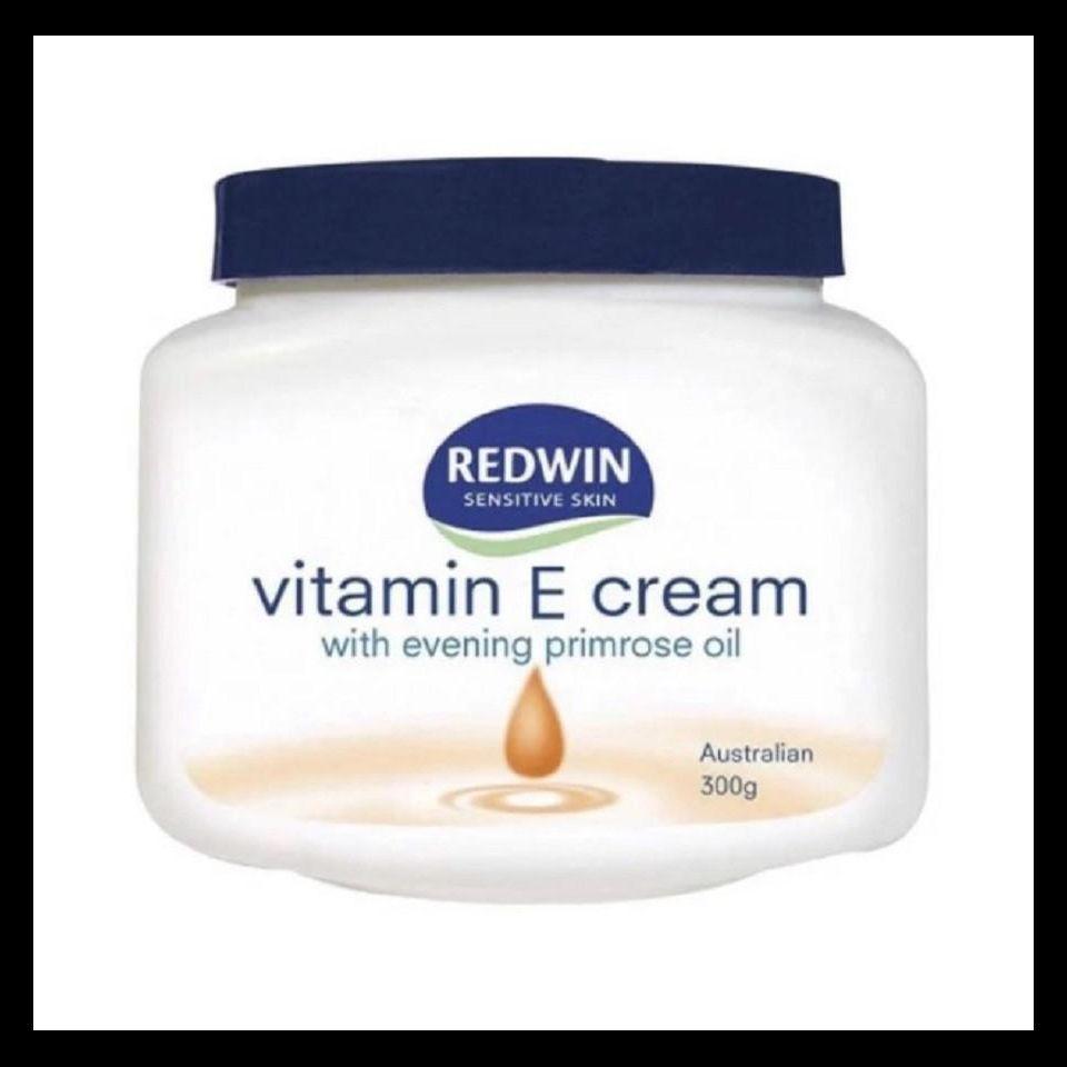 Kem dưỡng da mềm mịn Redwin Vitamin E Cream with Evening Primrose Oil 300g