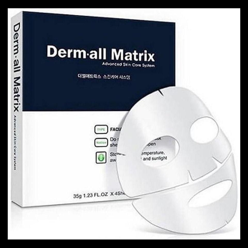 Mặt nạ thần thánh trắng da, chống lão hóa Derm All Matrix Advanced Skin Care System