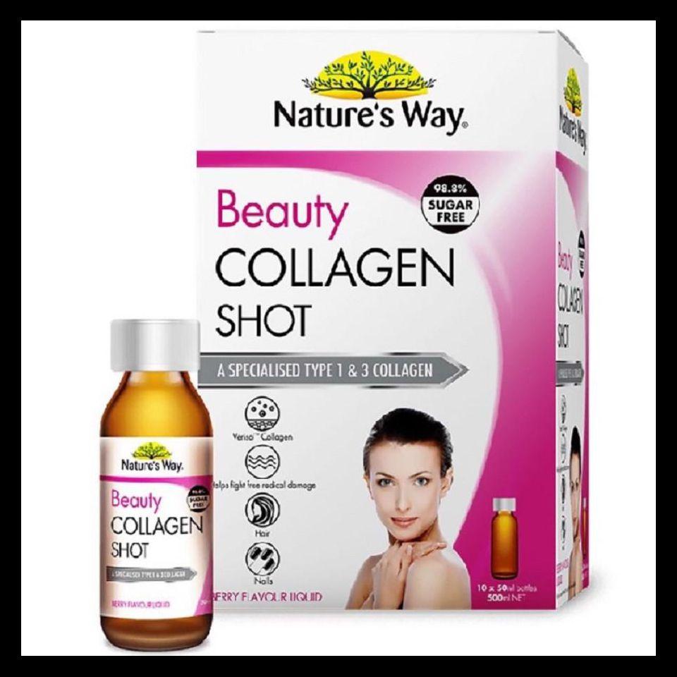 Nature's Way Beauty Collagen Shot Collagen Dạng Nước