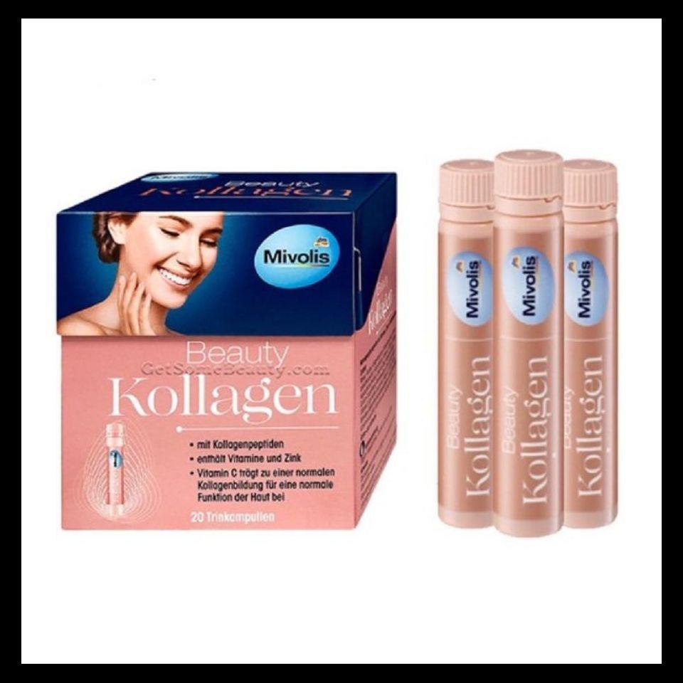 Nước uống đẹp da của Đức Kollagen Beauty Mivolis