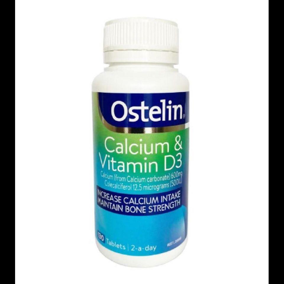 Ostelin Canxi và Vitamin D - Bổ sung canxi cho bà bầu chính hãng tại Úc