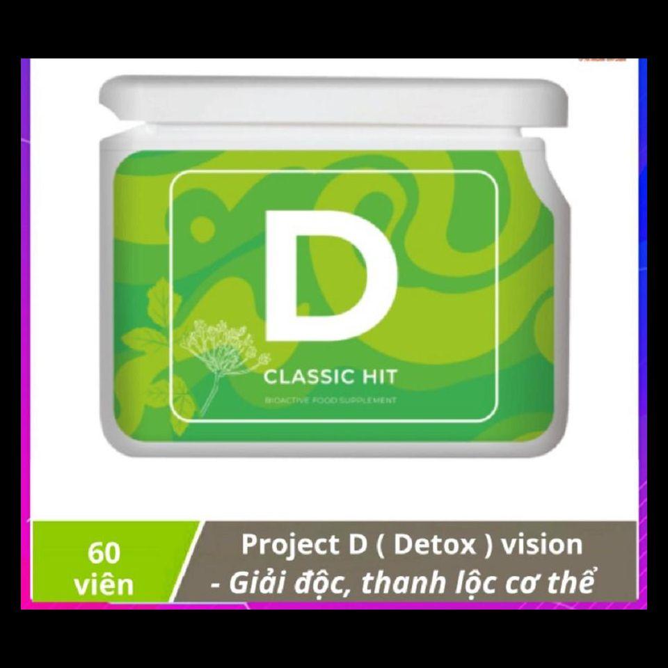 Project V - D (Detox) vision - Thanh lộc, giải độc cơ thể ở cấp độ tế bào