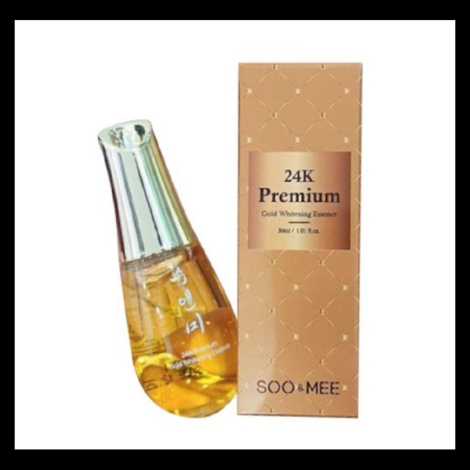 Serum Vàng 24K Premium Gold Whitening Essence Dưỡng Trắng Da
