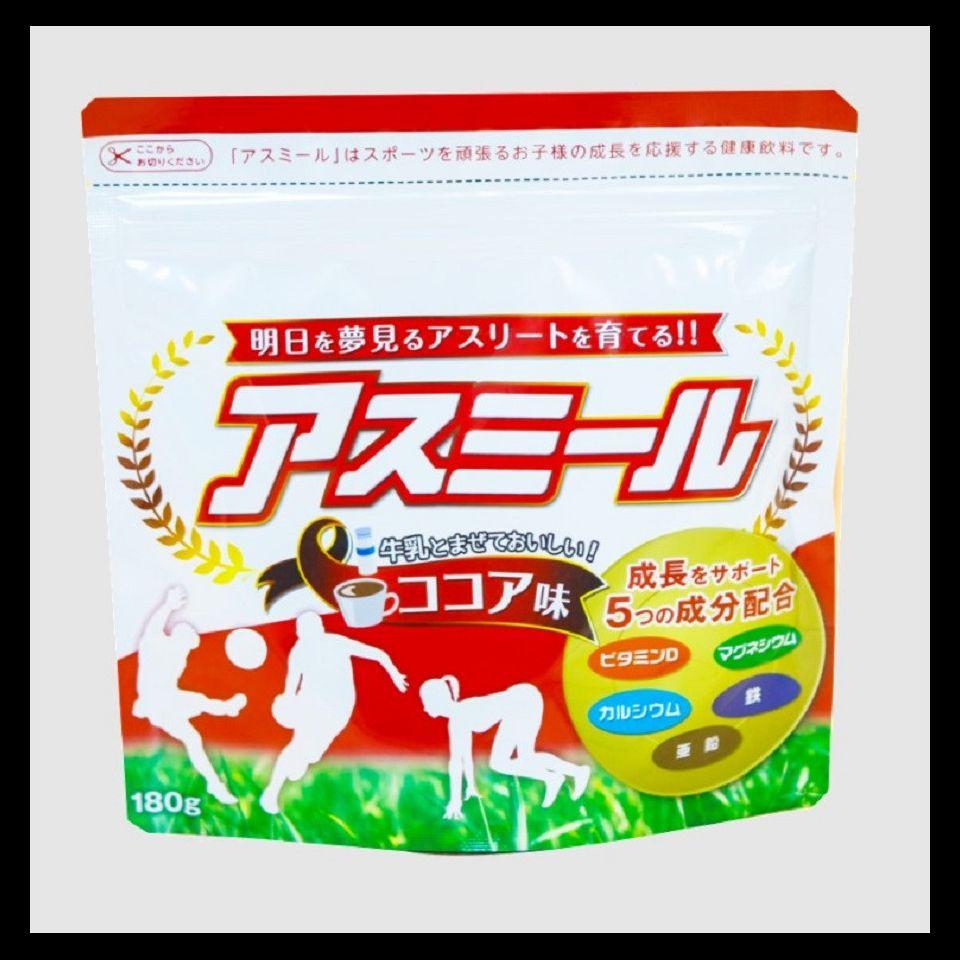 Sữa tăng trưởng chiều cao Asumiru Nhật Bản 3-16 tuổi (vị ca cao)