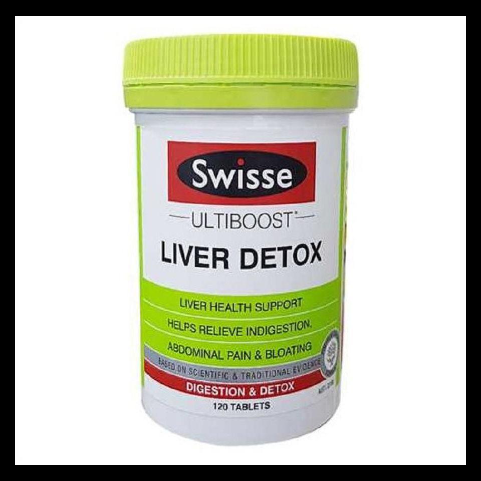 Swisse Liver Detox Úc – Viên uống thải độc mát gan