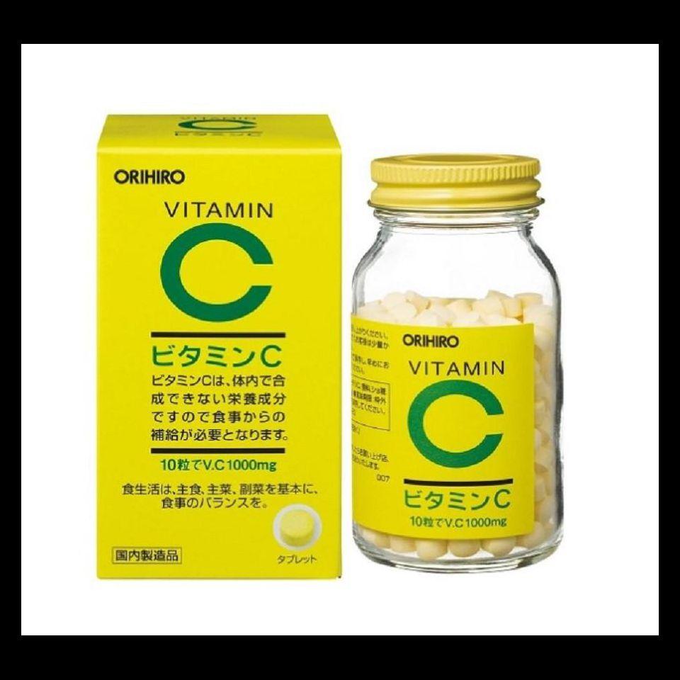 Viên uống bổ sung Vitamin C Orihiro 1000mg 300 viên Nhật Bản