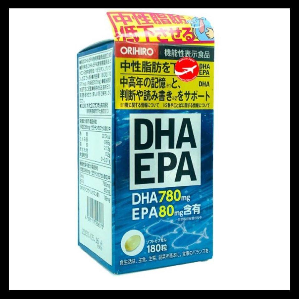 Viên uống DHA EPA 180 viên - Nhật Bản