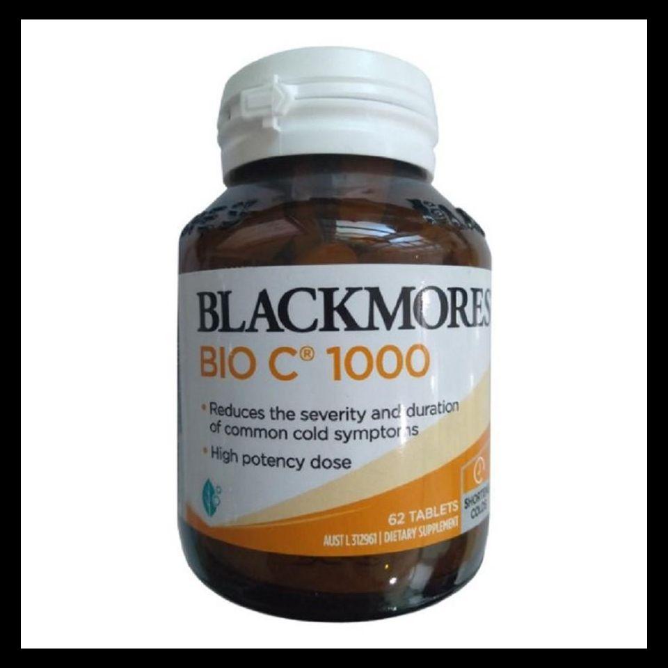 Viên Uống Vitamin C Blackmores Bio C 1000mg Úc - Hộp 62 viên