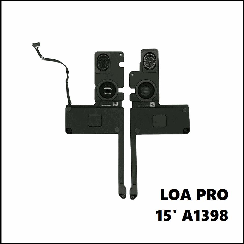 Loa Macbook Pro Retina 15 inch A1398 : 2012 - 2015
