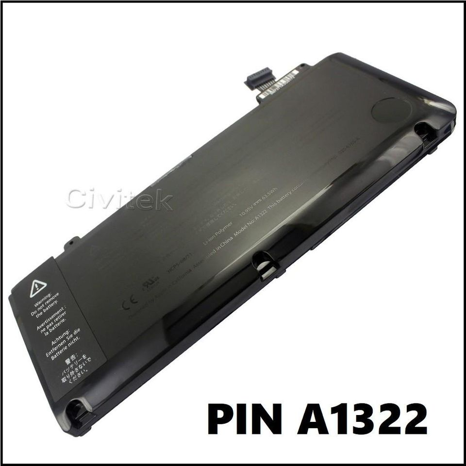Thay Pin Macbook Tại Huế - Pin Macbook Pro 13' A1322