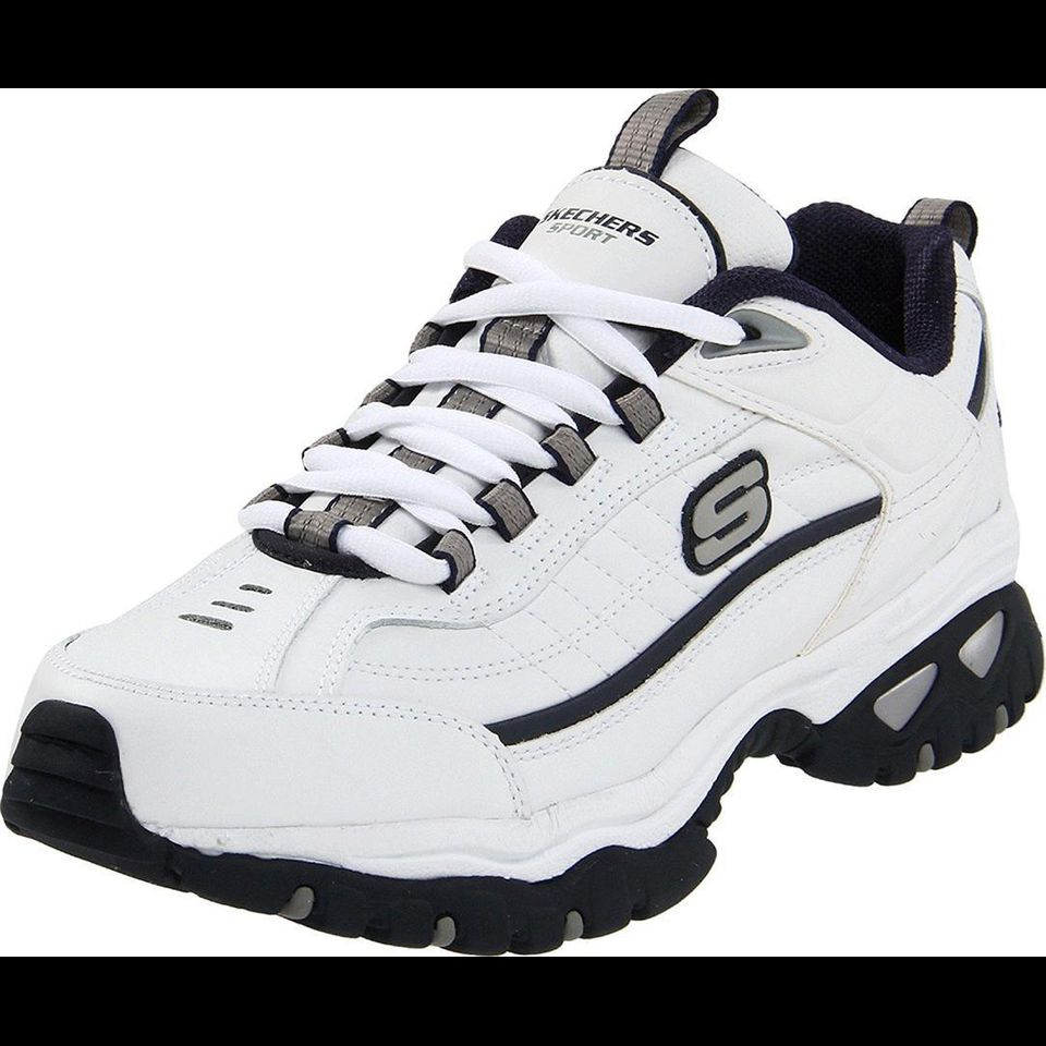 Giày Thể Thao Nam Skechers Energy Afterburn White/Navy
