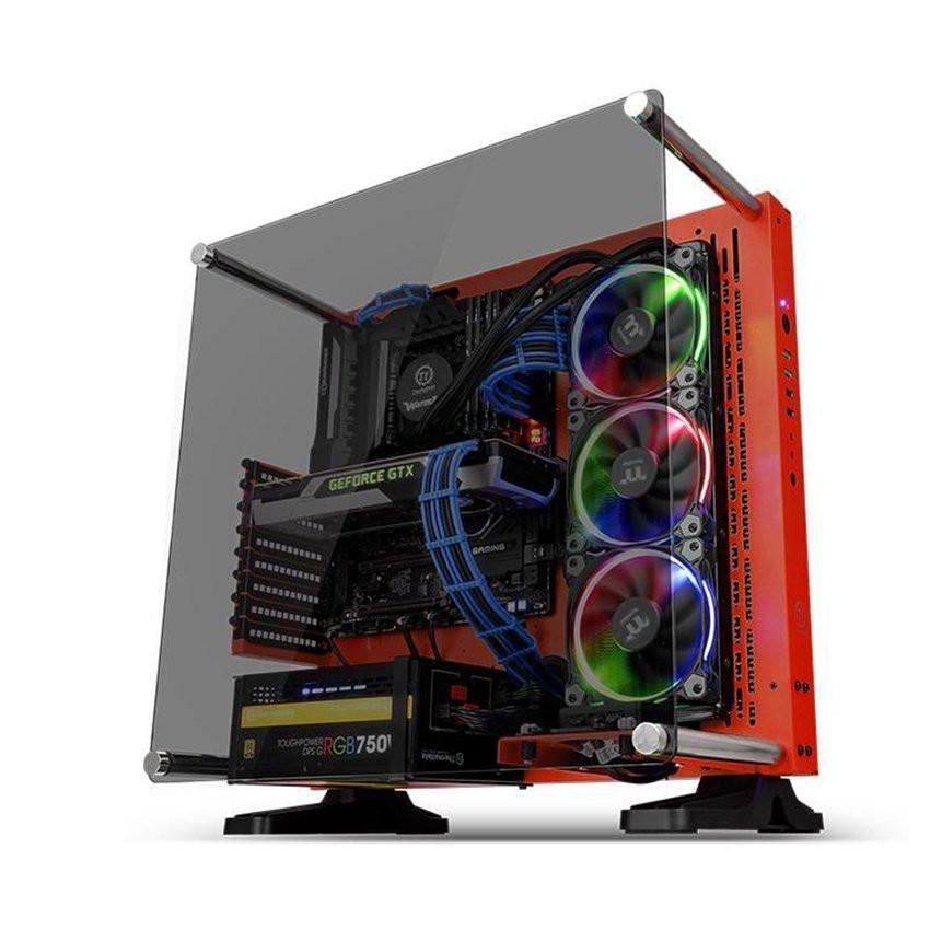Vỏ Case Thermaltake Core P3 Tempered Glass  (Mid Tower/Màu Đỏ) CA-1G4-00M3WN-03