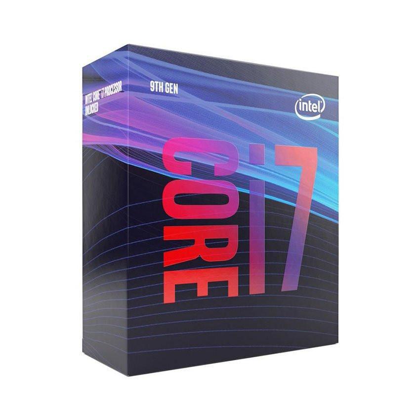 CPU Intel Core i7-9700F (3.0GHz turbo up to 4.7Ghz, 8 nhân 8 luồng, 12MB Cache, 65W) - Socket Intel LGA 1151-v2
