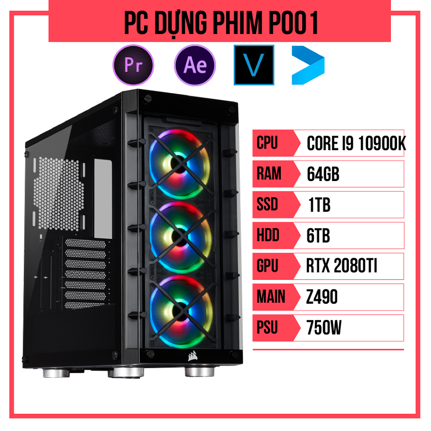 PC Dựng phim P001