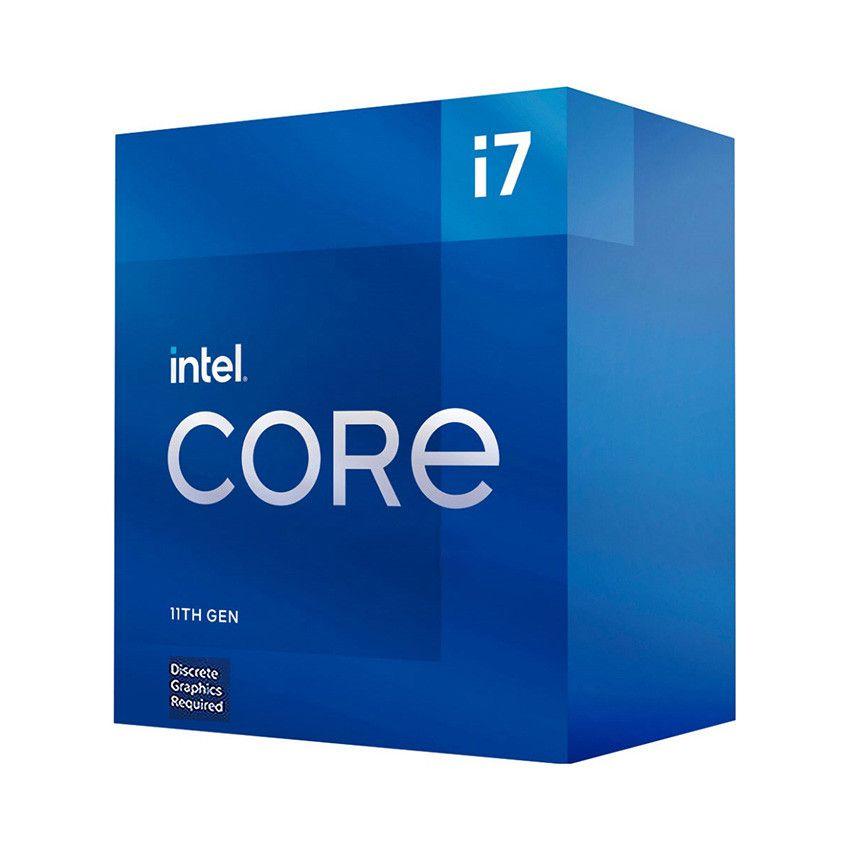 CPU Intel Core i7-11700F (2.5GHz turbo up to 4.9Ghz, 8 nhân 16 luồng, 16MB Cache, 65W) - Socket Intel LGA 1200