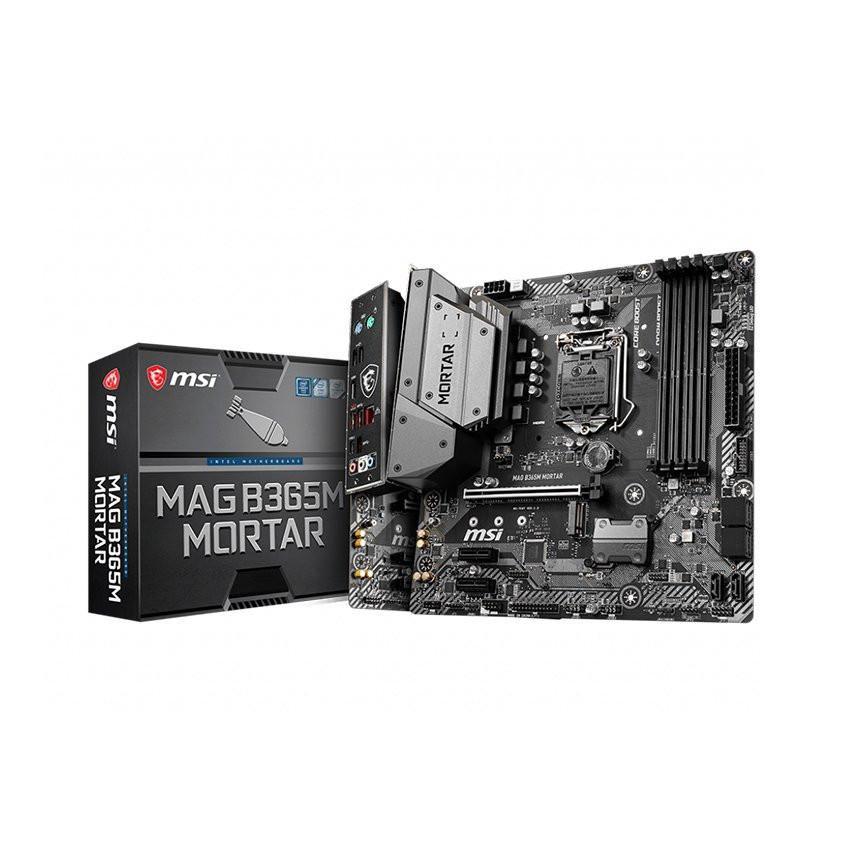 Mainboard MSI B365M Mortar (Intel B365, Socket 1151, m-ATX, 4 khe RAM DDR4)