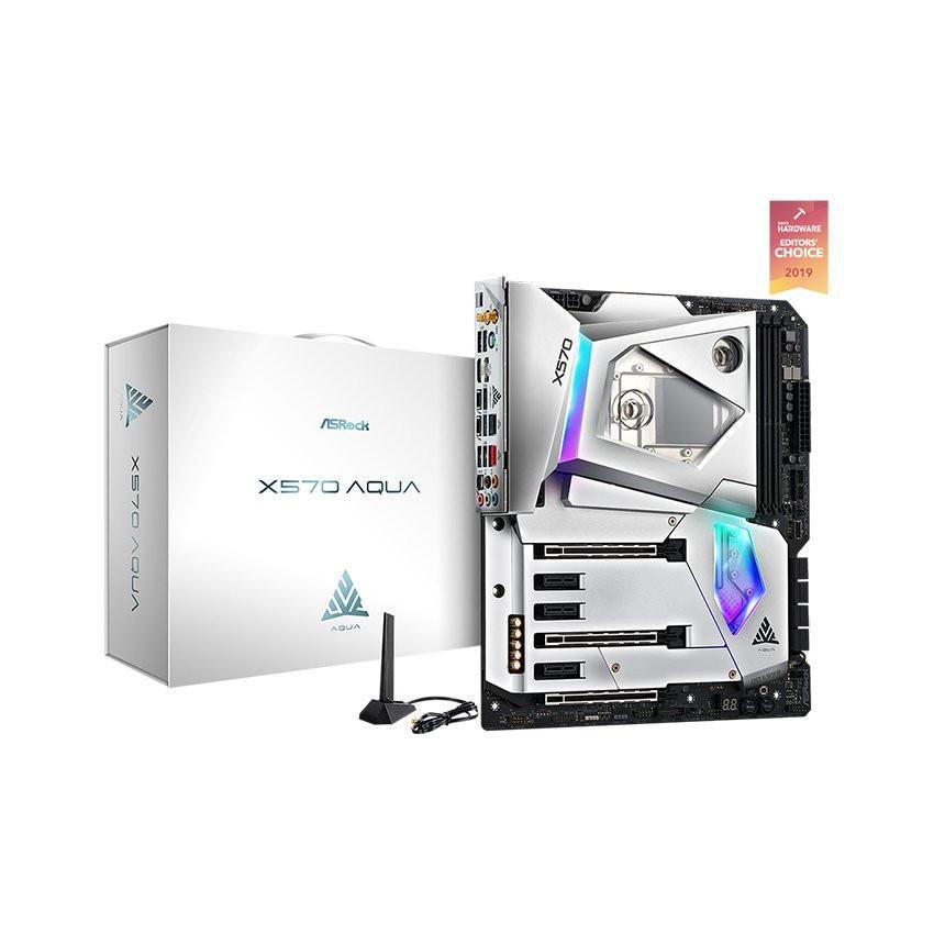Mainboard ASROCK Z490 AQUA (Intel Z490, Socket 1200, E-ATX, 4 khe Ram DDR4)