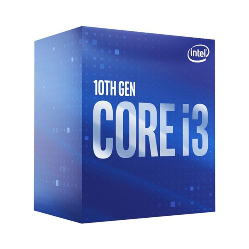 CPU Intel Core i3-10100 (3.6GHz turbo up to 4.3Ghz, 4 nhân 8 luồng, 6MB Cache, 65W) - Socket Intel LGA 1200
