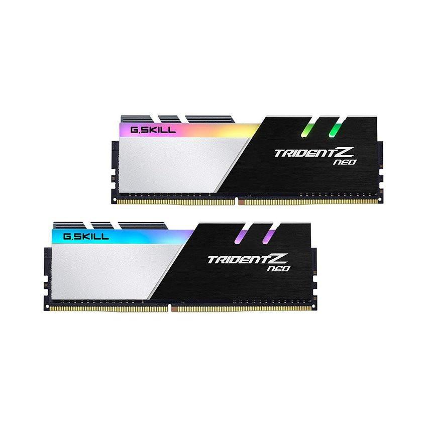 Ram Desktop Gskill Trident Z Neo RGB (F4-3600C18D-64GTZN) 64GB (2x32GB) DDR4 3600MHz