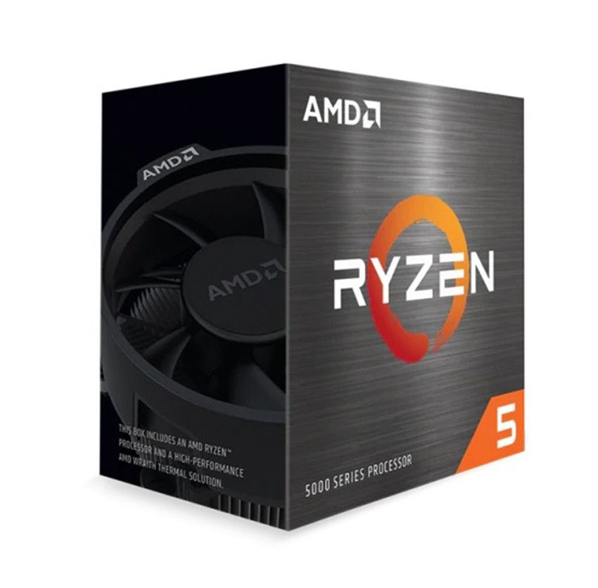 CPU AMD Ryzen 5 5600X (3.7 GHz Upto 4.6GHz / 35MB / 6 Cores, 12 Threads / 65W / Socket AM4)