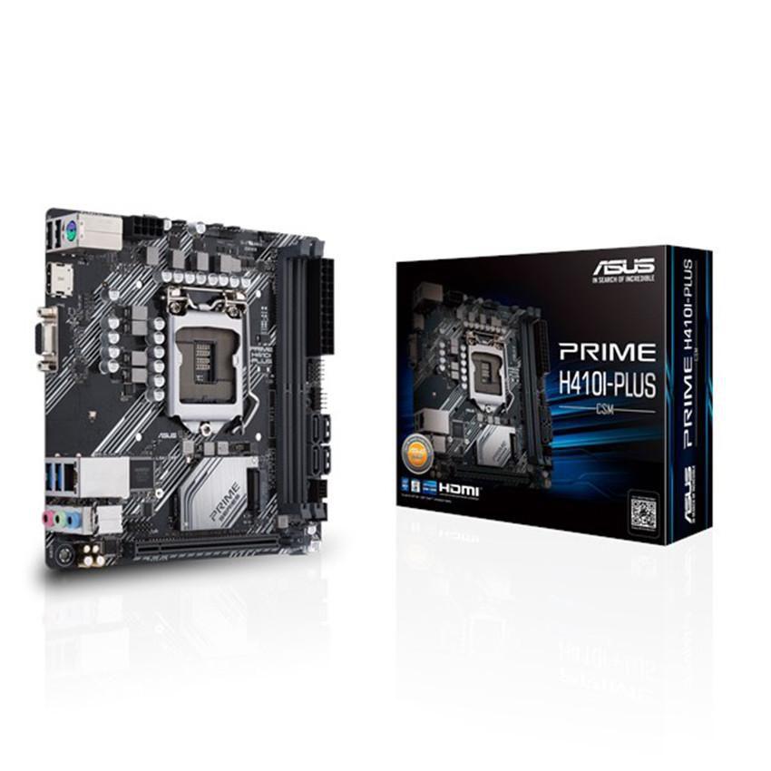 Mainboard ASUS PRIME H410I-PLUS (Intel H410, Socket 1200, Mini-ITX, 2 khe Ram DDR4)