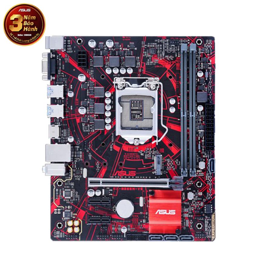 Mainboard ASUS EX-B365M-V5 (Intel B365, Socket 1151, m-ATX, 2 khe RAM DDR4)