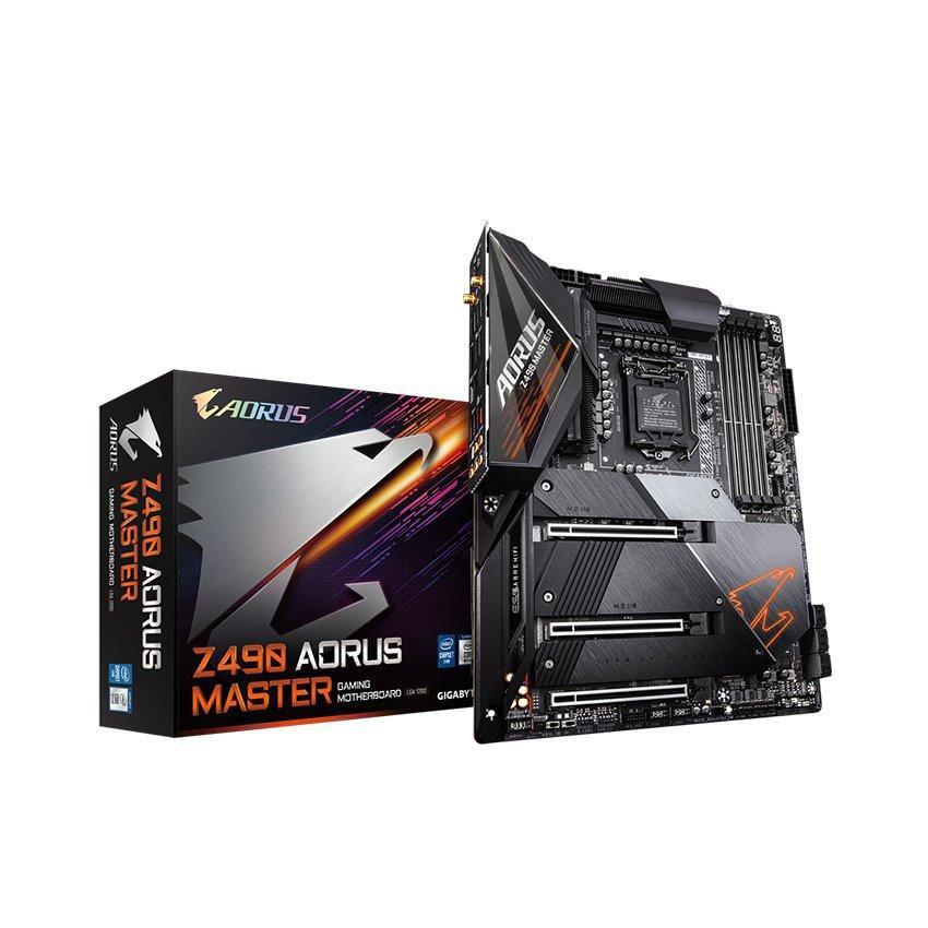 Mainboard GIGABYTE Z490 AORUS MASTER (Intel Z490, Socket 1200, ATX, 4 khe RAM DDR4)