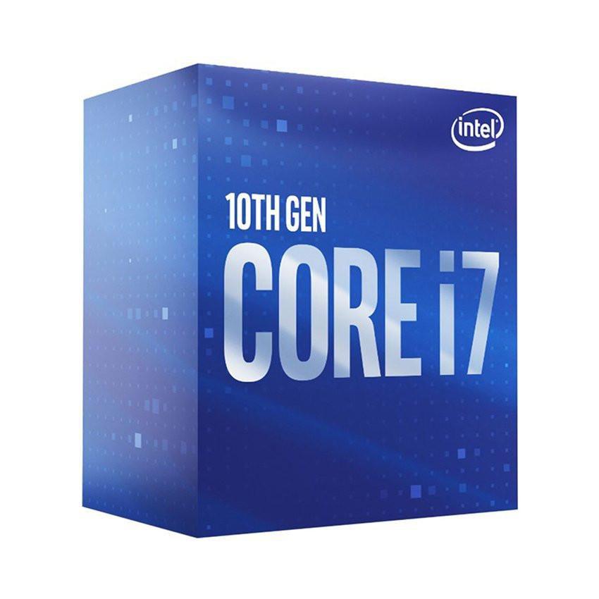 CPU Intel Core i7-10700KF (3.8GHz turbo up to 5.1Ghz, 8 nhân 16 luồng, 16MB Cache, 125W) - Socket Intel LGA 1200
