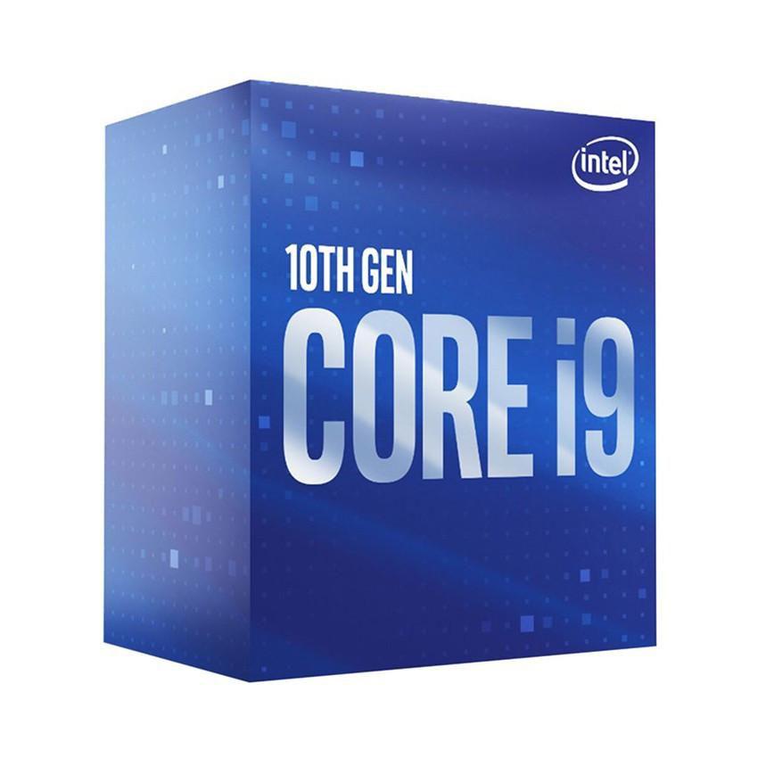 CPU Intel Core i9-10900F (2.8GHz turbo up to 5.2GHz, 10 nhân 20 luồng, 20MB Cache, 65W) - Socket Intel LGA 1200
