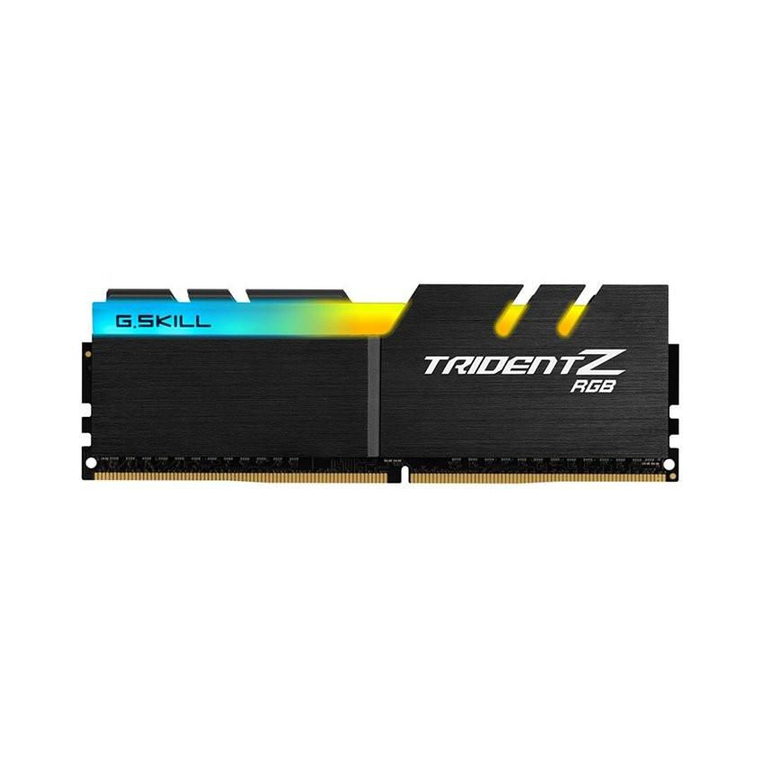 RAM Desktop Gskill Trident Z RGB ( F4-3000C16S-8GTZR) 8GB (1x8GB) DDR4 3000Mhz