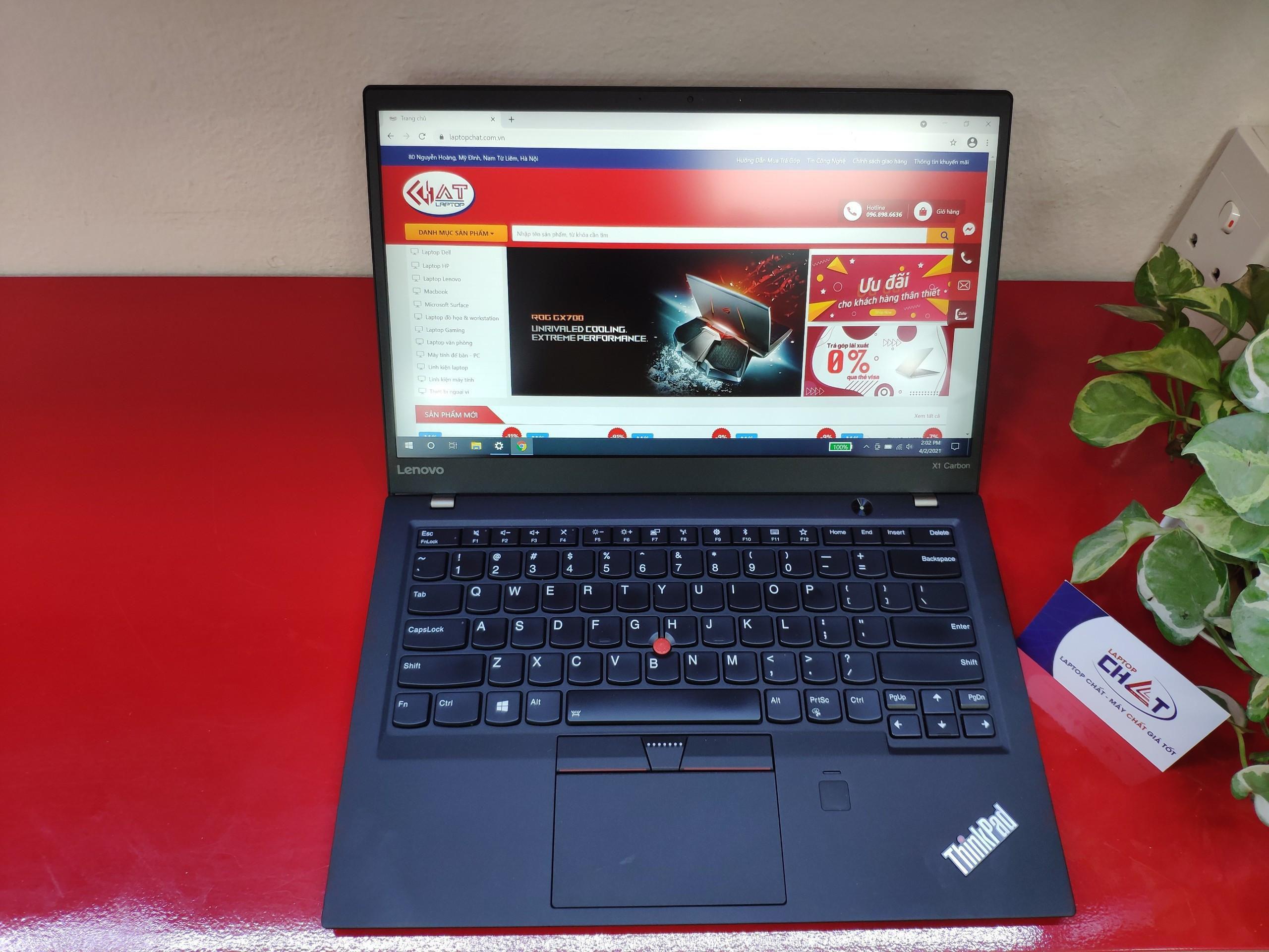 Lenovo Thinkpad X1 Carbon Gen 5 i7