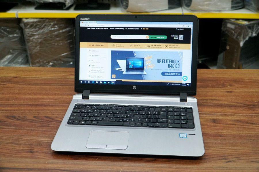 """Laptop Cũ HP ProBook 450 G3 Core i5-6200U/ RAM 4GB / SSD 120 GB / Intel® HD Graphics 520/ 15.6"""" HD"""