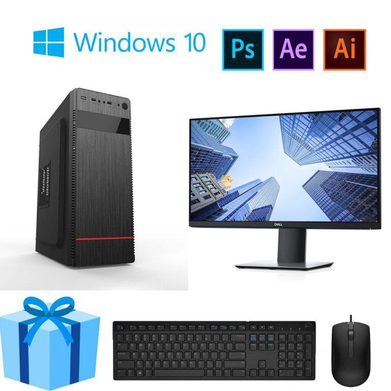 Bộ PC Office MH Core i3 10100 Ram 8G Màn Hình 24inch